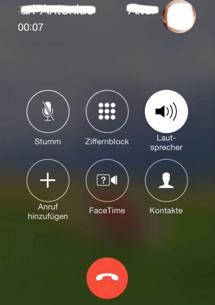 iPhone Telefon Dreierkonferenz Anruf Gespräch Makeln 1