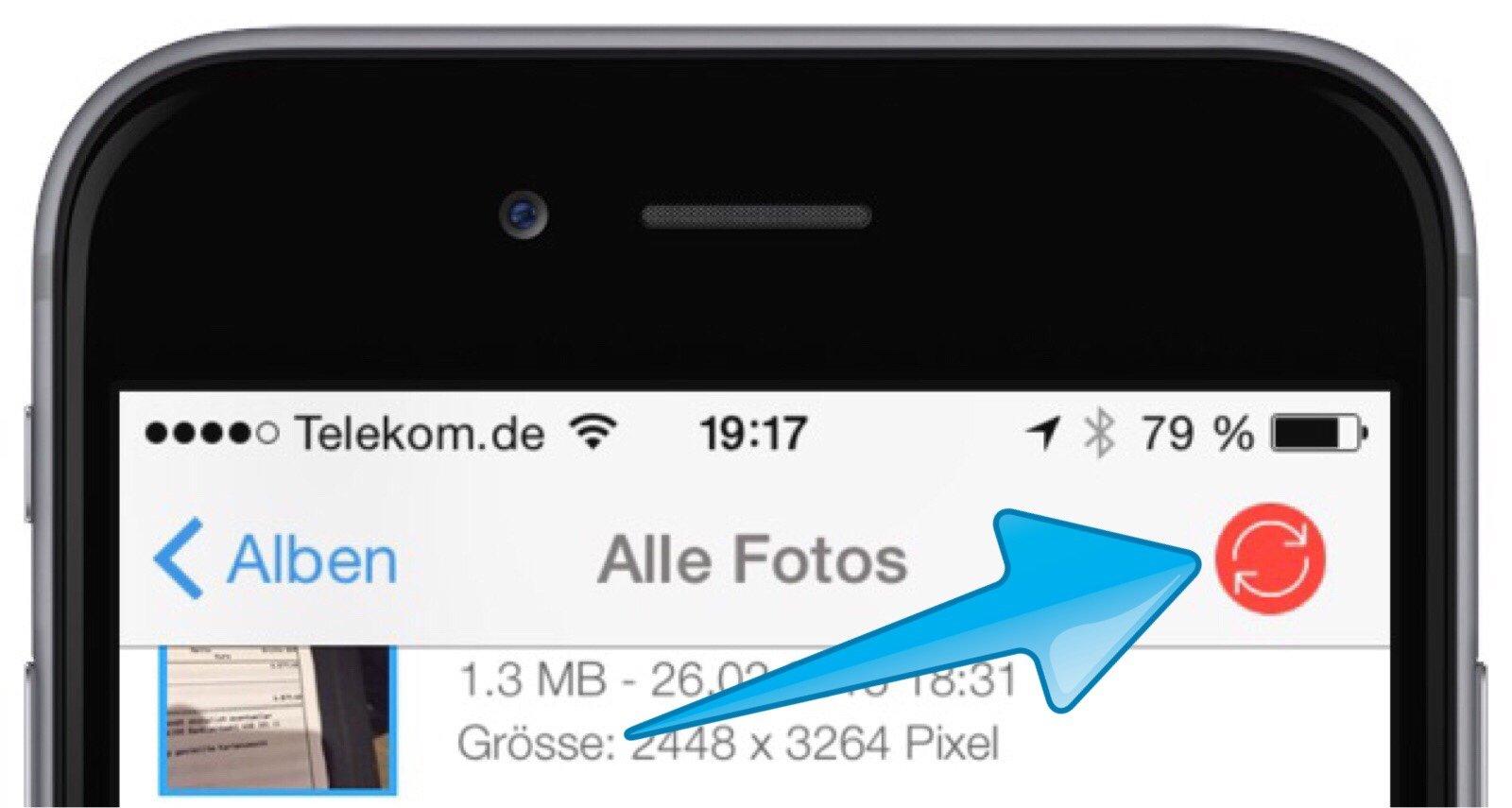 iphone fotos und videos schnurlos bertragen an mac und pc mit photosync mobil ganz. Black Bedroom Furniture Sets. Home Design Ideas