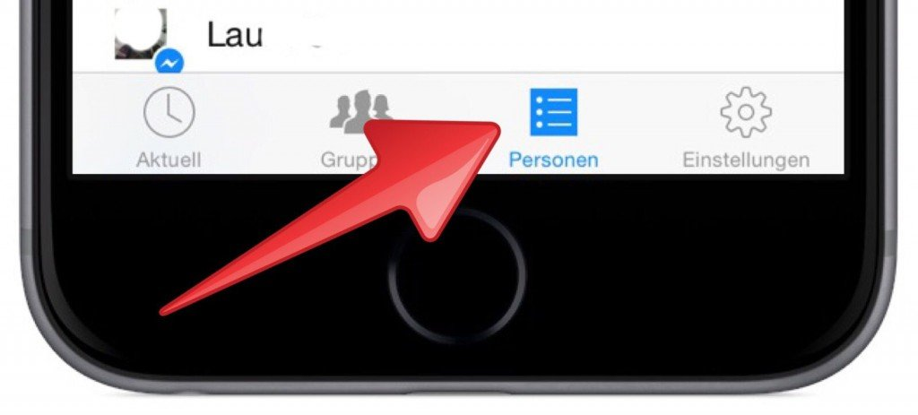 Facebook Messenger Online Status checken prüfen iPhone 1