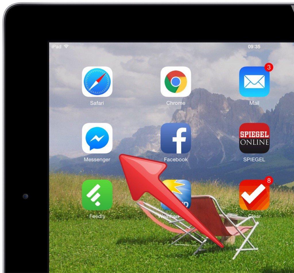 iPad,Facebook,Messenger,online,Freunde,prüfen,checken 1
