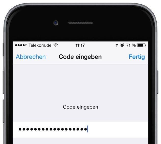 iPhone Safari Schlüsselbund Passwort Kennwort speichern 3