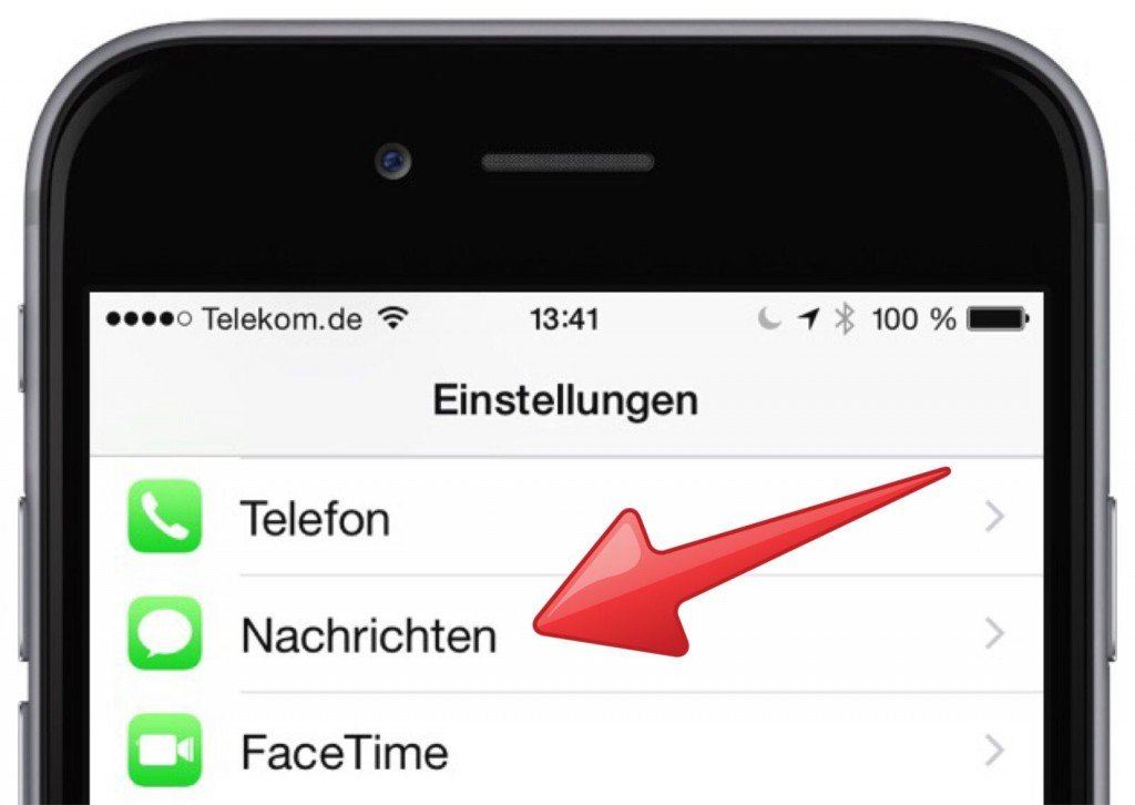 iPhone SMS iMessage Spam Filter Ordner 1