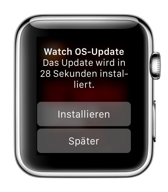 Apple Watch WatchOS Update 1.0.1 Bild3