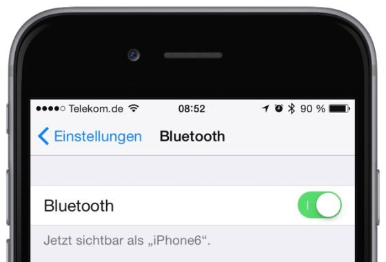 Apple Watch iPhone Koppeln verbinden Krone Watch OS iOS Bluetooth 1