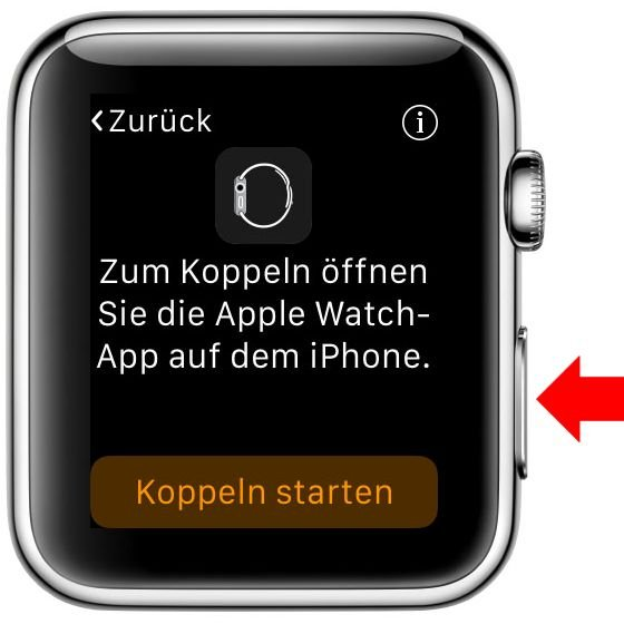 Apple Watch iPhone Koppeln verbinden Krone Watch OS iOS Bluetooth 2