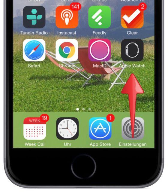 Apple Watch iPhone Koppeln verbinden Krone Watch OS iOS Bluetooth 3