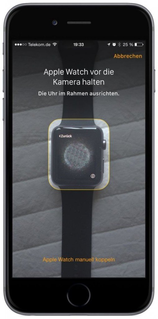 Apple Watch iPhone Koppeln verbinden Krone Watch OS iOS Bluetooth 5