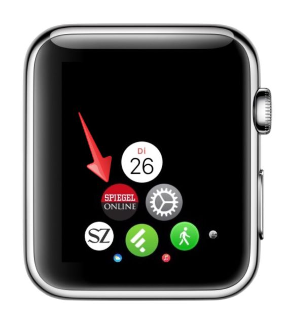 Apple Watch iPhone koppeln Symbole Icons verschieben 1