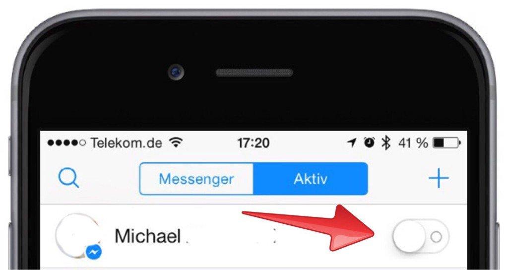 Facebook Messenger aktiv seit ausschalten abstellen 3