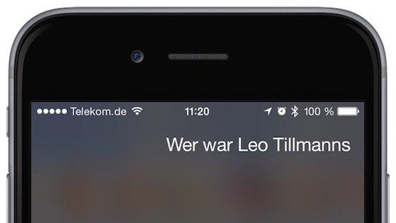 Siri iPhone Kommando ändern Sprachkommando Störgeräusche undeutlich verbessern 1