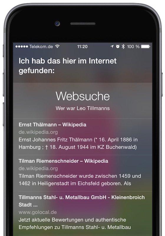 Siri iPhone Kommando ändern Sprachkommando Störgeräusche undeutlich verbessern 2