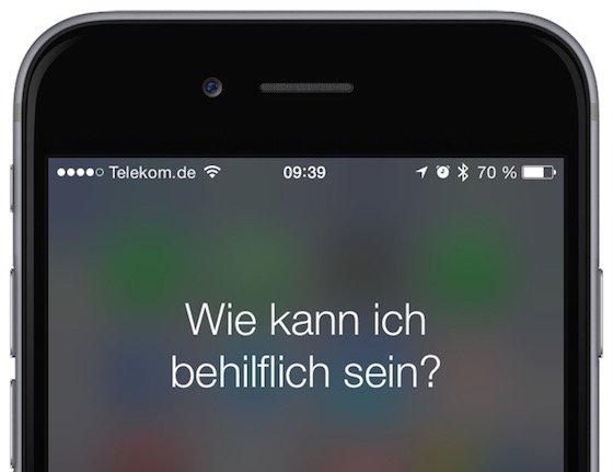 Siri iPhone Wecker stellen Kommando Bfehl Weckzeit 1