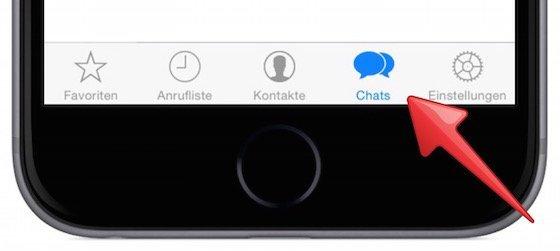WhatsApp iPhone archiviert Archiv anzeigen 1