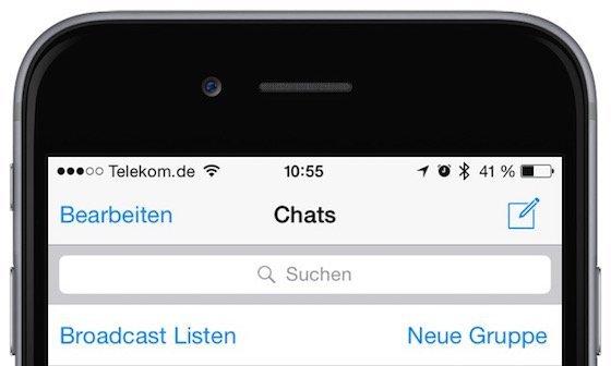 Archivierte WhatsApp,Chats anzeigen , Mobil,ganz,einfach.de