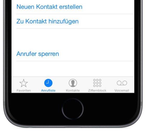 iPhone Stalker lästige Anrufer sperren blockieren 3
