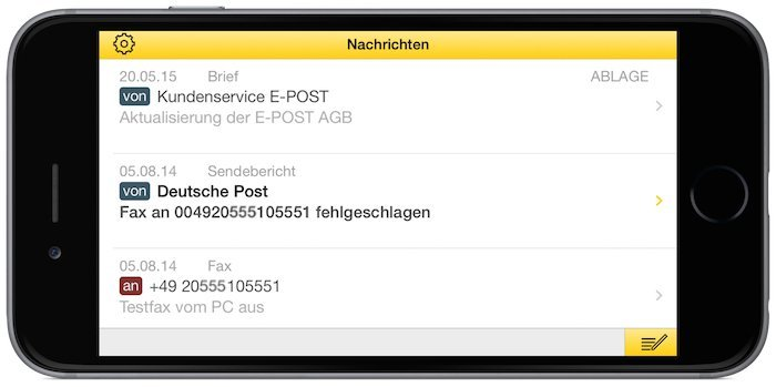 E-POST E-POSTBRIEF App Post Brief Tracking Status 2