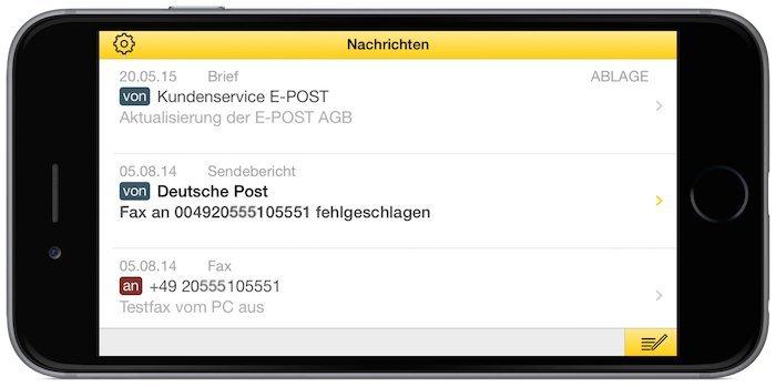 E-POST E-POSTBRIEF App Post Brief Tracking Status 2