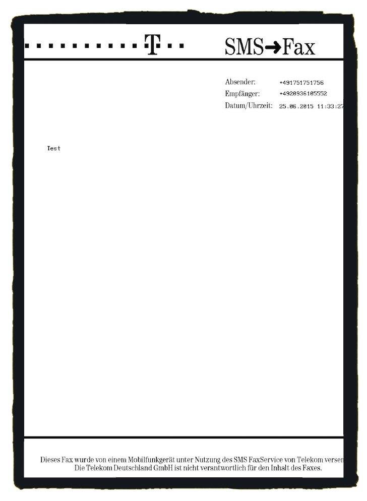 Fax vom Handy versenden T-Mobile 4