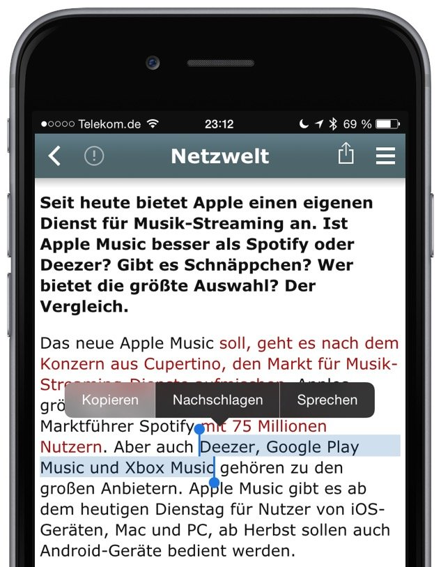 MacID iPhone Mac Inhalt Zwischenablage übertragen kopieren 1