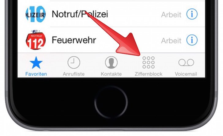 Mobilbox Voicebox Apple iPhone T-Mobile Deutsche Telekom Provider Mobilfunk Anrufbeantworter AB 1
