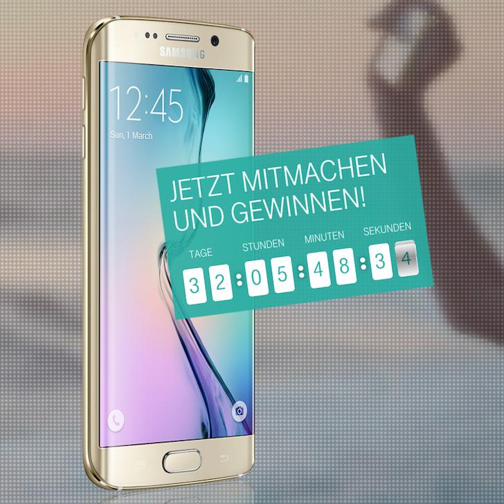 Samsung Galaxy S6 Edge Gewinnspiel Telekom verlost Verlosung