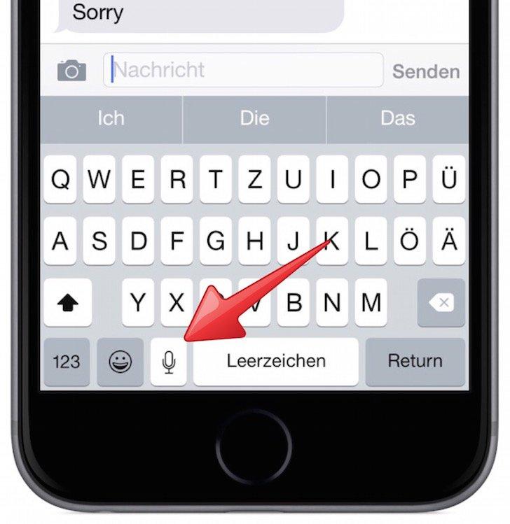 Siri iPhone Sprachbefehl Kommando text to speech umwandeln Text Sprache 1