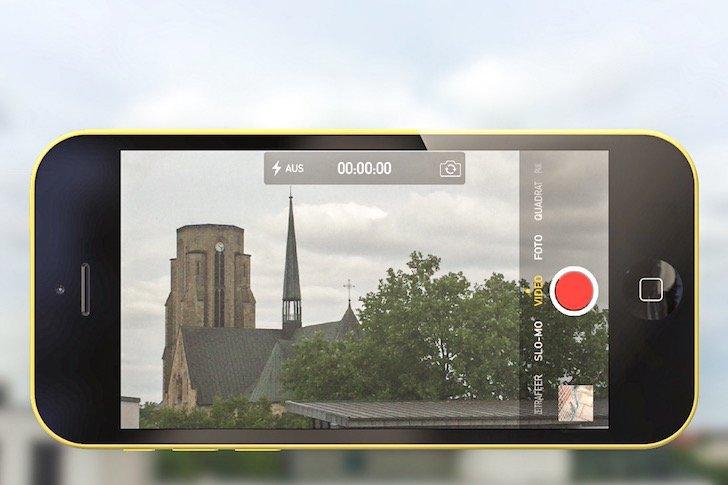 Zeitraffer Slow Motion SloMo Video Kamera Film drehen schneiden beschneiden kürzen 1