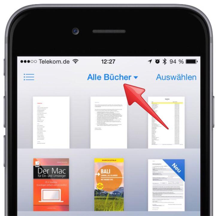 iPhone PDF mitnehmen Adobe Acrobat erstellen lesen speichern 12