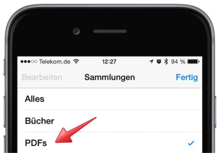 iPhone PDF mitnehmen Adobe Acrobat erstellen lesen speichern 13