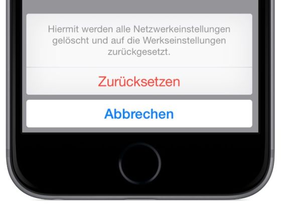 iPhone W-LAN Problem beheben Netzwerk-Einstellungen Provider Router Paswörter VPN 4