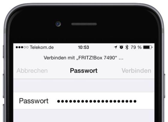 iPhone W-LAN Problem beheben Netzwerk-Einstellungen Provider Router Paswörter VPN 6