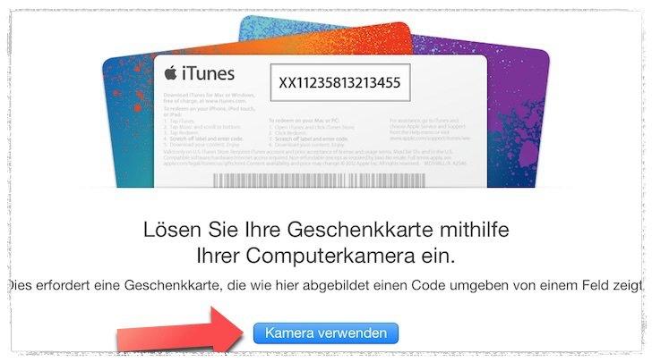 itunes rabatt aktion guthaben karten mac kamera 3_Fotor