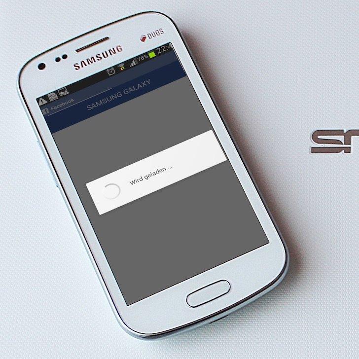 Samsung Android Facebook App langsam Freigabe posten Alternative 4 WIRD GELADEN