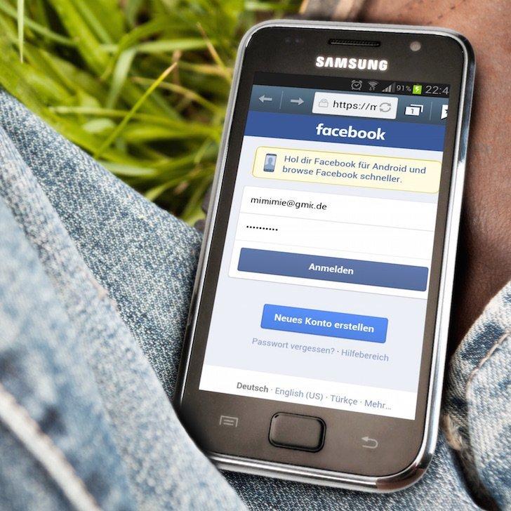 Samsung Android Facebook App langsam Freigabe posten Alternative 7 ANMELDENAME
