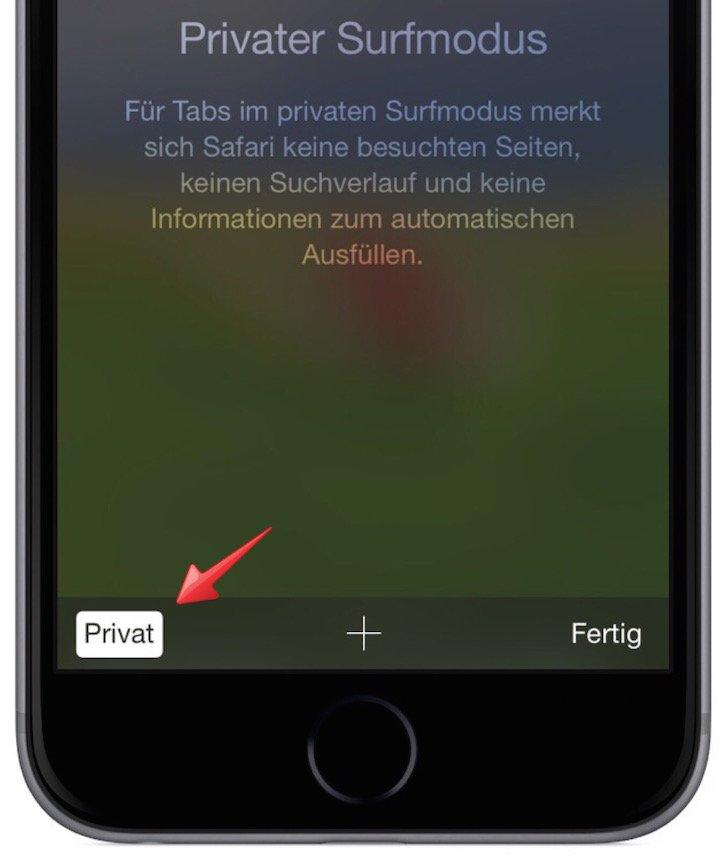 iPhone Safari speichert Kennwort nicht mehr Keychain Schluesselbund Privat Modus 5