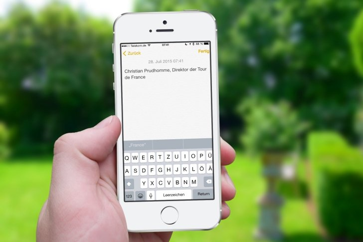 iPhone Text kopieren Zwischenablage Zwischenspeicher Einfügen Einsetzen Mail Nachrichten Safari WhatsApp Link 9