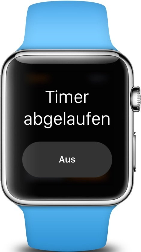 Apple Watch Timer stellen iPhone Eier kochen 3