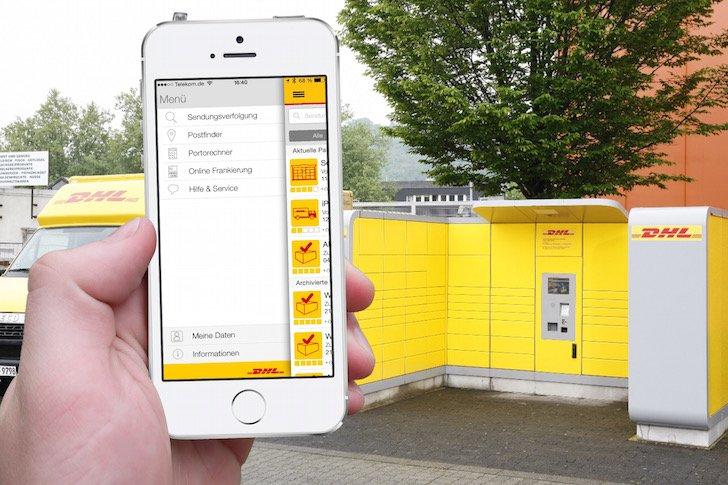 DHL Post Paket Päckchen Porto frankieren Smartphone iPhone iPad Android App Update 1