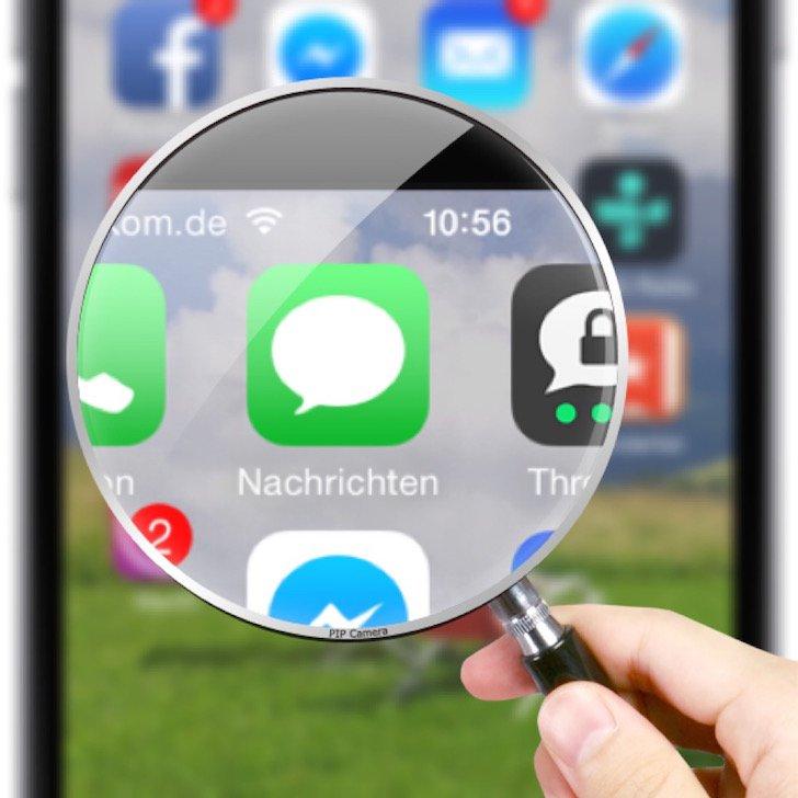 iPhone SMS-Nachrichten speichern PDF Mac Acrobat exportieren sichern Backup 1