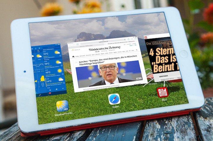 iPad Speicher Arbeitsspeicher Task Manager App Apps Programme beenden Apple schließen stoppen löschen 1