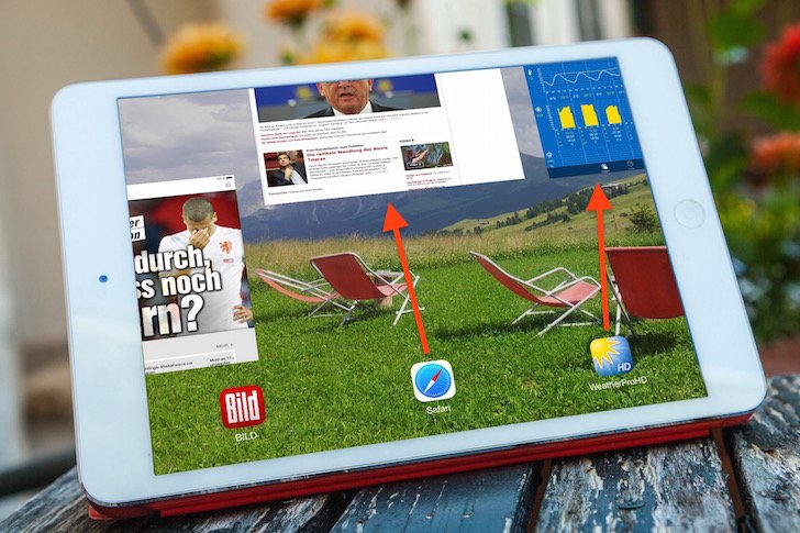 iPad Speicher Arbeitsspeicher Task Manager App Apps Programme beenden Apple schließen stoppen löschen 2