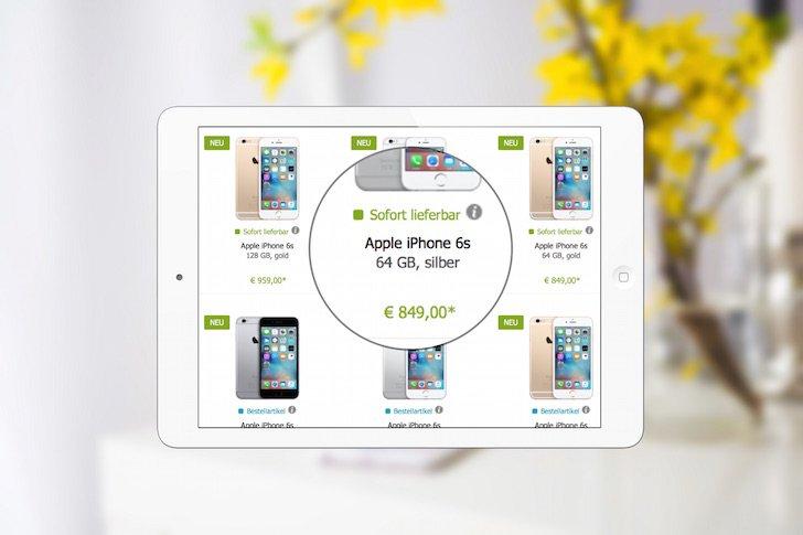 iPhone 6s und iPhone 6s plus bei GRAVIS sofort verfügbar