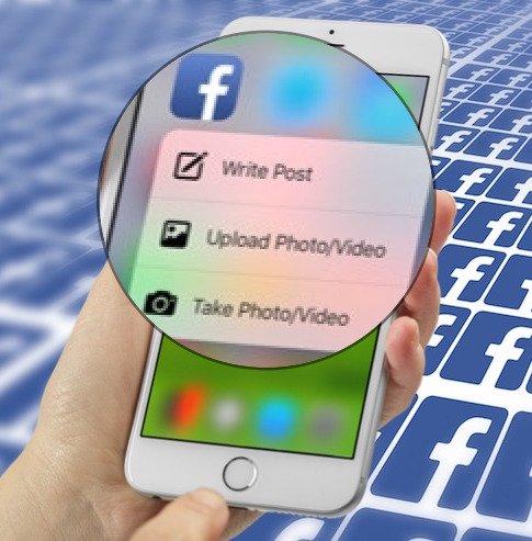3D Touch für Facebook Update auf v41 machts möglich