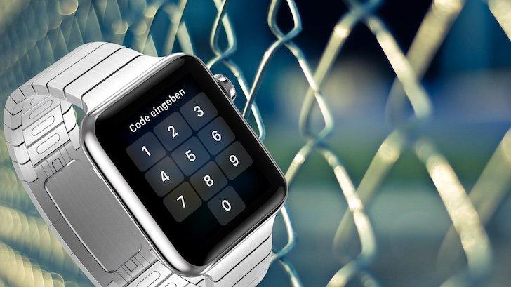 Apple Watch PIN Code Sperrcode sperren Sicherheit Diebstahl Verlust sichern 1