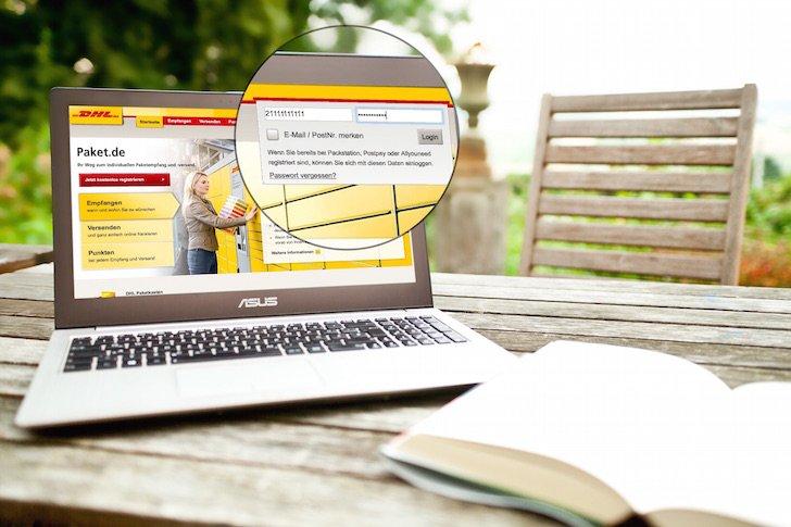 DHL Deutsche Post Packstation Paket Päckchen mTAN TAN mobile Transaktionnsummer neu senden generieren verloren nicht erhalten 1