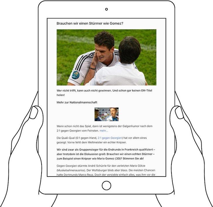 iPad Reader-Ansicht PDF konvertieren speichern iBooks exportieren 2