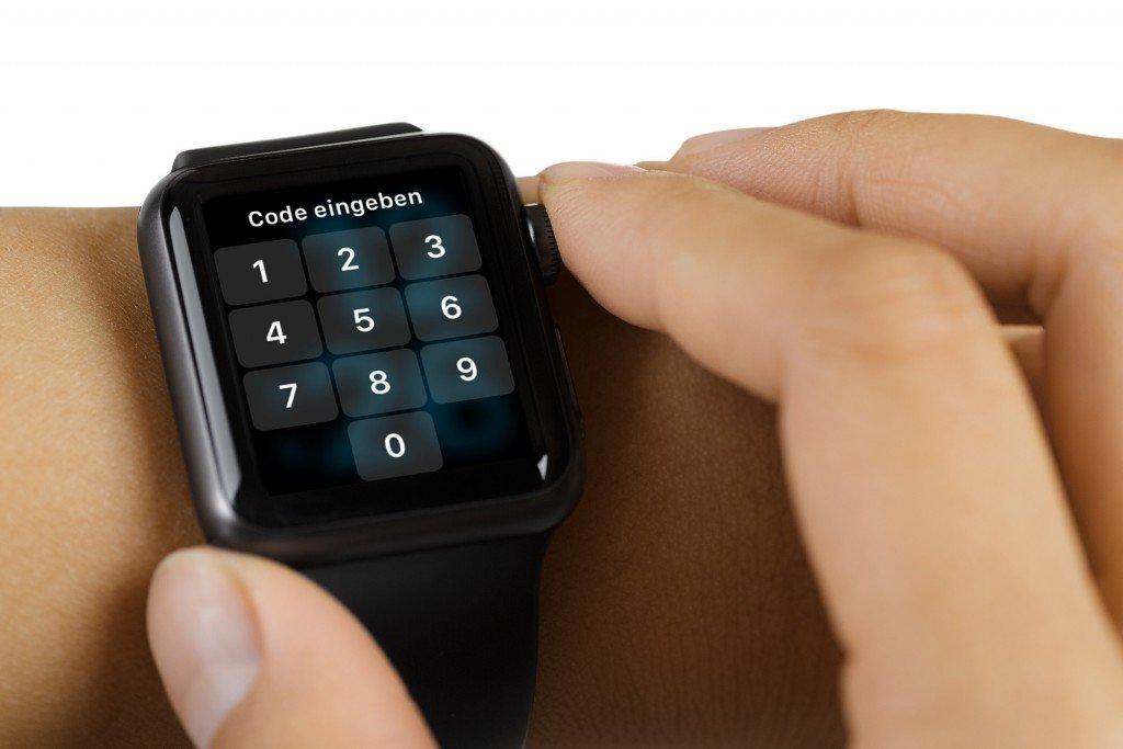 iPhone Apple Watch PIN Code ändern Sicherheit sichern 3
