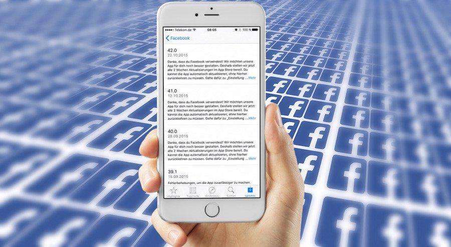 iPhone Facebook App Stromverbrauch Akku leer Fehler Bug behoben