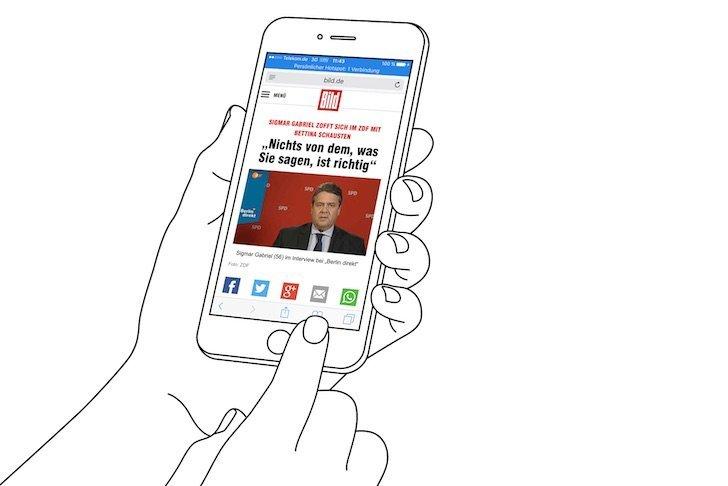 iPhone Reader-Ansicht PDF konvertieren speichern iBooks exportieren 1