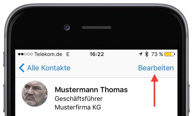 iPhone Telefon Klingeln Klingelton ändern personalisieren individuell anpassen bearbeiten 1